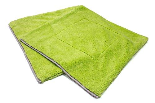 AUTOFIBER Motherfluffer Mega Plush Rinseless Car Wash Towel (2 pack) ()