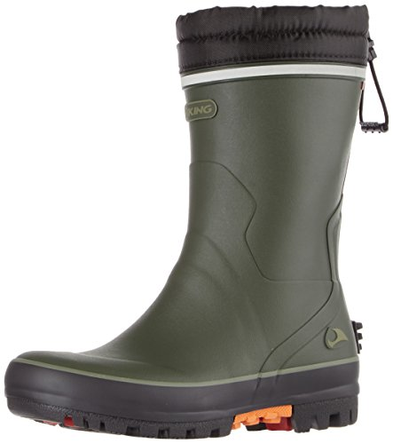 Viking Unisex Adults' Terrain Ii Wellington Boots Green (Green 4) 4Uugxe