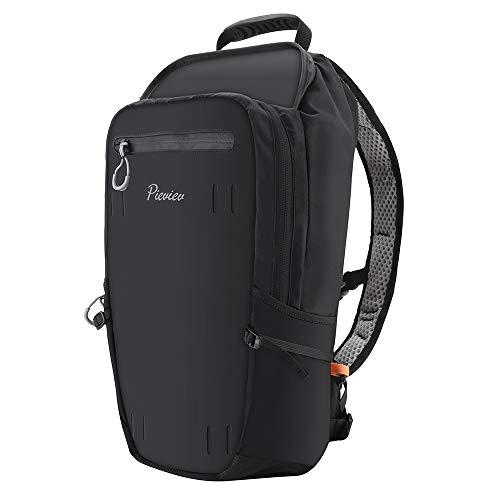 AsobeageCamera Backpack Compatible for GoPro Hero 2018, Hero 6/5/4/3/2/1/GoPro Hero 5 Session/Hero Session(Black)
