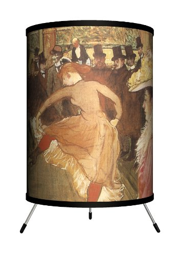 Lamp-In-A-Box TRI-ART-HTBAL Art - Henri de Toulouse-Lautrec