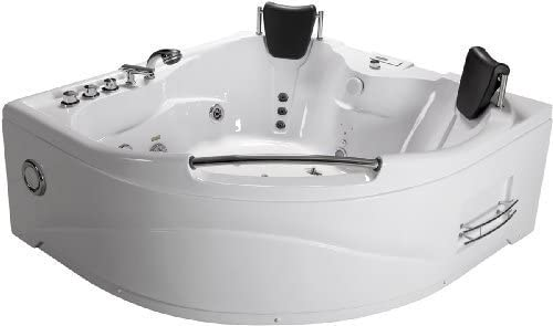 Best Whirlpool Tubs-Best in size: Two Person Corner Tub