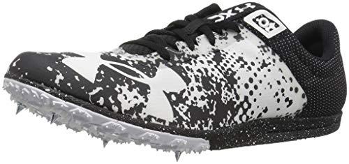 Under Armour XC Brigade Spike Athletic Shoe, Black (001)/White, 6 ()