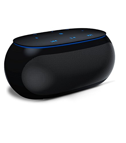 Home Theater Audio Wireless Bluetooth Speakers,Light Weight Durable Speaker,Silky Smooth Surface,Handsfree and Free Life-time Technical Support,Portable Outdoor Speaker(12H Playtime,Black)