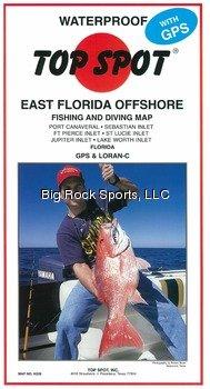 Top Spot Map N220 East Florida