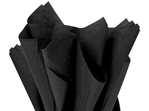 Black 150 Sheets - Gift Wrapping Tissue Paper 15'' x 20'' | A1BakerySupplies by Premium Quality Gift Wrap Paper