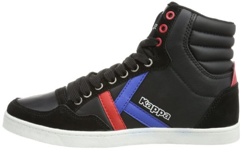 MID 1120 Kappa 241692 Erwachsene Unisex Schwarz KOREA Black II Red Sneaker 6xqHBwE4x