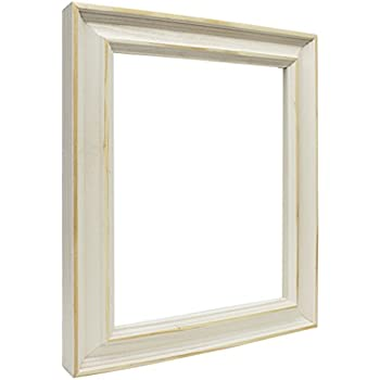 Amazon Com The Rusty Roof Country White Picture Frame
