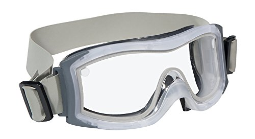 Bollé Safety 254-DU-40097 Duo Safety Goggles with Thermo-Plastic Rubber Frame and Clear Anti-Fog Lens