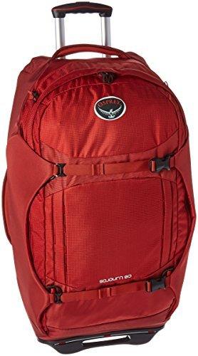 Osprey Packs Sojourn Wheeled Luggage, Hoodoo Red, 80 L/28