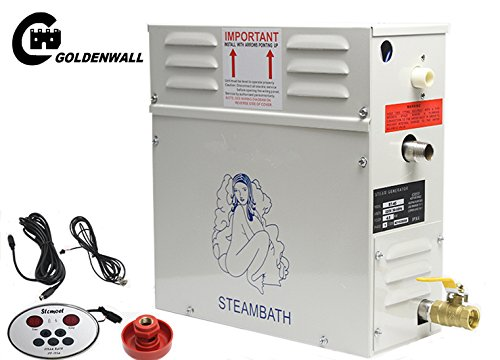 4.5kw steam generator steam shower for bath spa with controller tempreture& timing 4.5 kw 220v For suitable space heating 3 m³