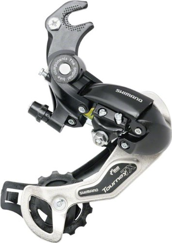 Shimano RD-TX35 6-7 Speed Hanger/Claw Mount Black Rear Bicycle Derailluer ()