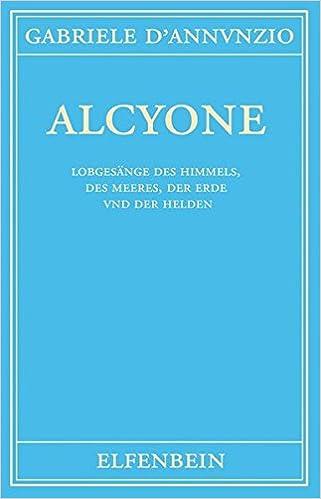 Alcyone Gedichte Italienisch Deutsch Amazonde