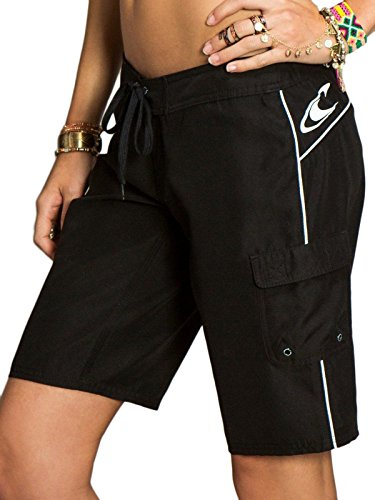 O'Neill Juniors Caspian Board Shorts, Black, 5