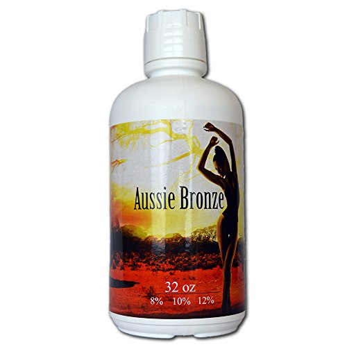 Aussie Bronze 10 DHA Sunless Airbrush Spray Tanning Solution 64 oz ships in 2 qts