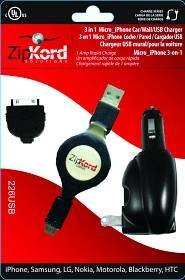 ekg-zipkord-zip-226usb-iphone-combo-charger-car-wall-usb-catalog-category-cell-phone-accessories