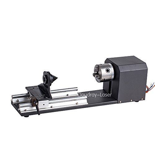 CNC Roller Rotation Axis Rotary Attachment Rotate Engraving for Cutting Machine (3-Phase Stepper Motor) by Cloudray