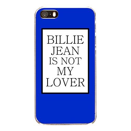 """Disagu Design Case Coque pour Apple iPhone 5 Housse etui coque pochette """"BILLIE JEAN IS NOT MY LOVER"""""""