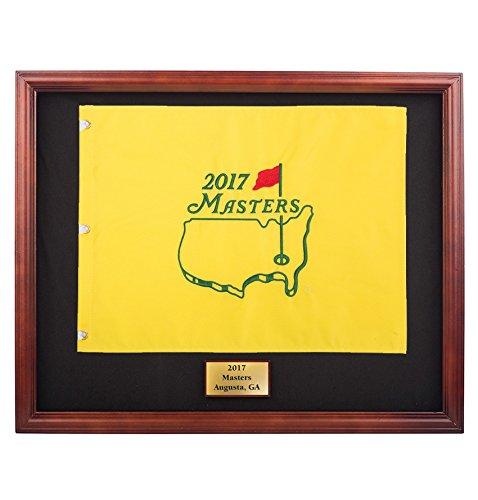 Framed 2017 Masters Pin Flag