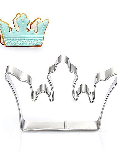 Del Rey/corona de la Reina corte forma de galletas, frutas acero inoxidable moldes