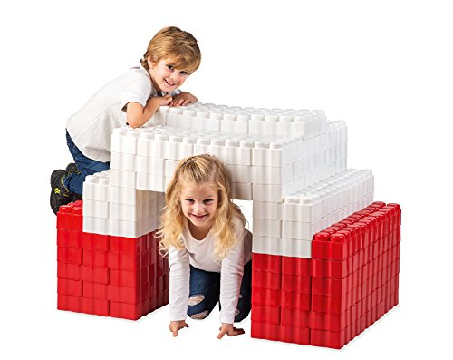 Game Movil Game Movil88241 192 Pieces Giant Blocks 1 Tunnel, Multi-Color
