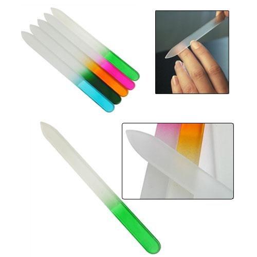 Durable Nail File Buffer Crystal Glass Art Files Tool