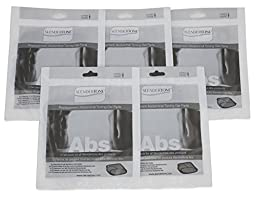 Slendertone Replacement Ab Gel Pads for All Slendertone Abdominal Belts - 5 Sets (15 Single Gel Pads)