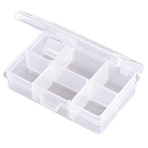 Compartment Box, Adjustable, 4 to 6