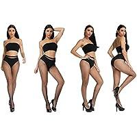 Fishnets Tights Ladies Fishnet Stockings Thin Fishnet Pantyhose Black Cross Mesh Stockings Sexy Pantyhose for Women…