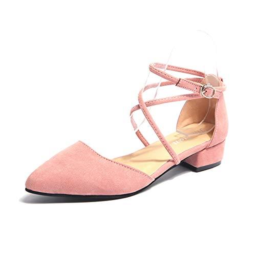Sanfashion Con Moda Casual Comode Scarpe Summer L'ultima Rosa1 Confortevoli Sandali E Fibbia Signora Spesse Della YFqwYUr