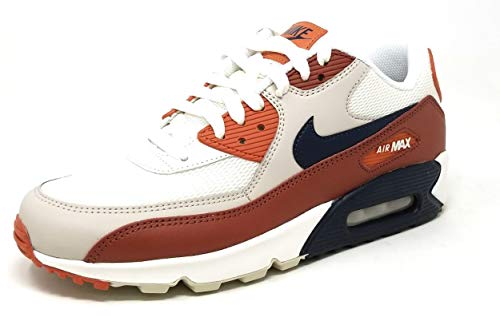hot sales 7eb09 e0fdb Galleon - NIKE Mens Air Max 90 Essential Running Shoes Mars Stone Obsidian Vintage  Coral AJ1285-600 Size 13