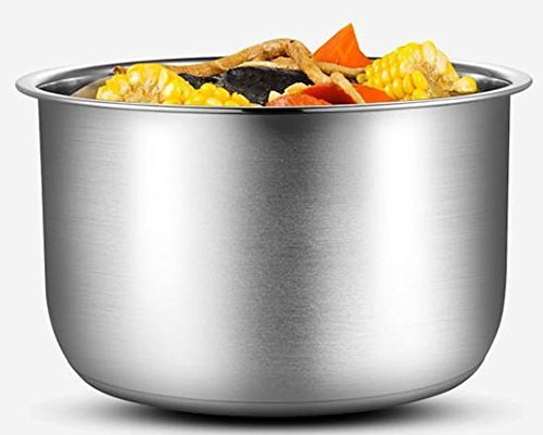 MIDEA 6 Qt 6 in 1 Programmable Electric Pressure Cooker, Meat/Stew, Poultry, Steam, Slow Cook, Rice, Beans/Chili, Congee, Soup, Multi Grain, Sauté by MIDEA (Image #2)'