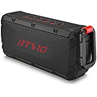 Best Portable Wireless Bluetooth Speaker - IPX6 Waterproof Rating - Powerful 10W Sound. Perfect To Use At The Beach, Camping, Hiking. Use Anywhere Indoors or Outdoors. The BTS10 by BW DISTRIBUTORS