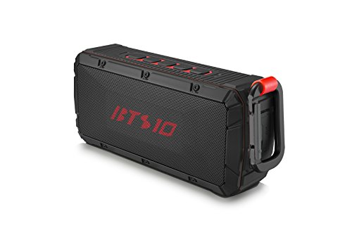 Best Portable Wireless Bluetooth Speaker - IPX6 Waterproof Rating - Powerful 10W Sound. Perfect to Use at The Beach, Camping, Hiking. Use Anywhere Indoors Outdoors. The BTS10 BW DISTRIBUTORS
