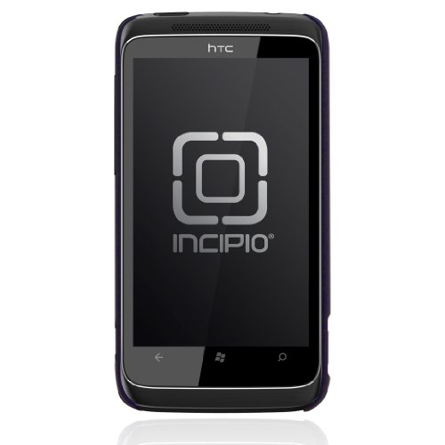 Incipio HTC Trophy Feather Ultralight Hard Shell Case - 1 Pack - Carrying Case - Retail Packaging - Iridescent Purple