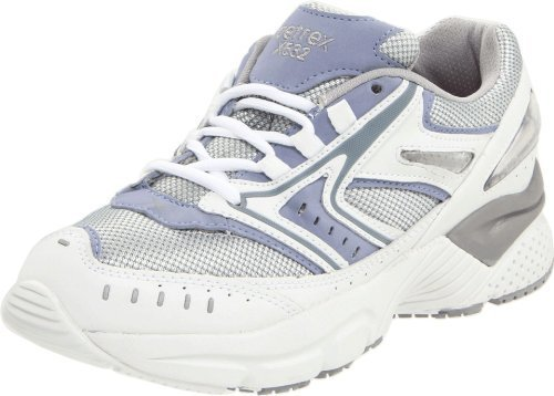 Apex Women's X532 Reina Running Shoe,Silver/Blue,7.5 W US by Apex