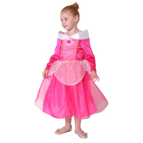 Storybook Wishes Hot Pink Sleeping Beauty Dress Size 4/6