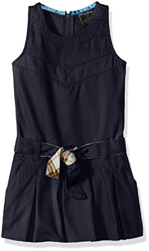 Eddie Bauer Little Girls' Dress Or Jumper (More Styles Available), Twill Navy-PRFE, (Twill Jumper)