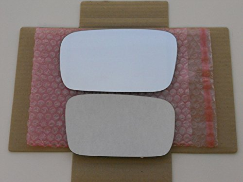 New Replacement NON-BLUE Mirror Glass with FULL SIZE ADHESIVE for 2004-2006 Acura TL Driver Side View Left -