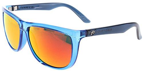 Electric Visual TONETTE Round Womens Sunglasses DEEP SKY