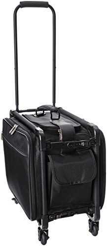 TUTTO 17 Inch Small Carry-On Luggage, Black, One Size ()