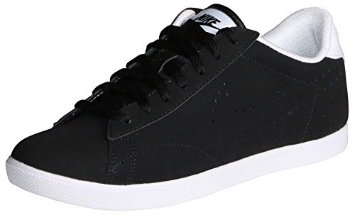 Nike Racquette Leather (Black/White/Black) Women's Court Shoes (5) Review