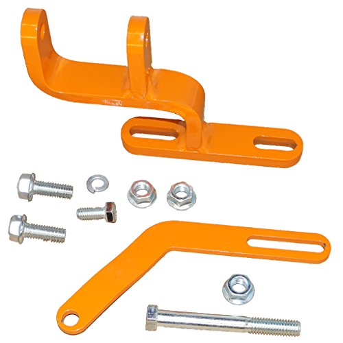 DJS Tractor Parts / Alternator Bracket Kit - Allis Chalmers IB, B, C, CA, D10, D12, D14 - (Alternator Adjustment Bracket)