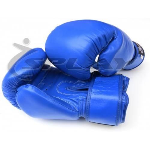 Splayスペアリングボクシンググローブ ブルー 12 Oz