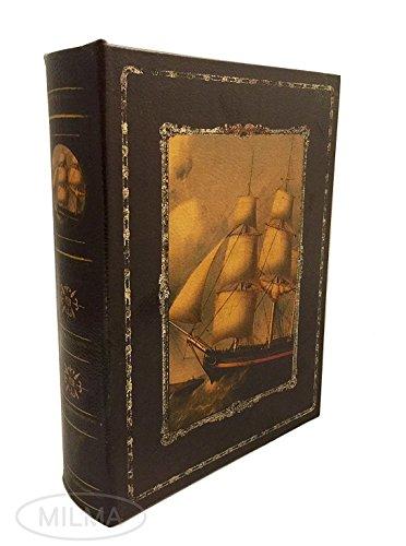 Books Old Antique (Antique Sail Boat Nautical Secret Book Box Old Time Sailing Nautical Wooden Keepsake)