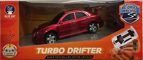 Radio Controlled Racing (Turbo Drifter Radio Controlled Action Vehicle, Colors May)