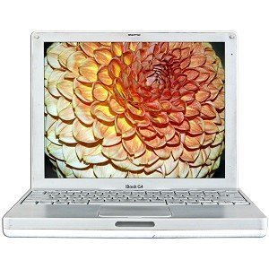 ook Laptop with Microsoft Office 2004, Garage Band and Toast! G4 iBook 1.33GHz Processor, 1GB, 40GB, 12.1