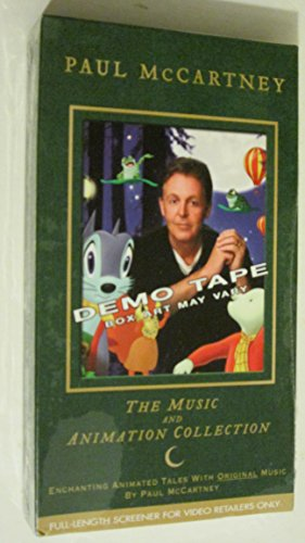 Paul McCartney - The Music and Animation Collection [Demo/Promo] (VHS Tape) - Promo Vhs