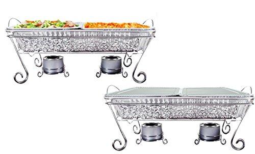 Tiger Chef Decorative Ornate Disposable Chrome Wire Full