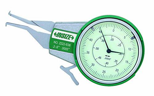 INSIZE 2222-E10 Internal Dial Caliper Gage, 0.2-1.0