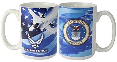 United States Air Force Logo 15oz. Coffee - Mug Force Coffee Air